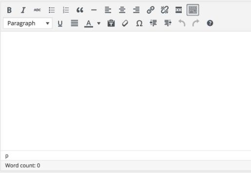Wordpress Before