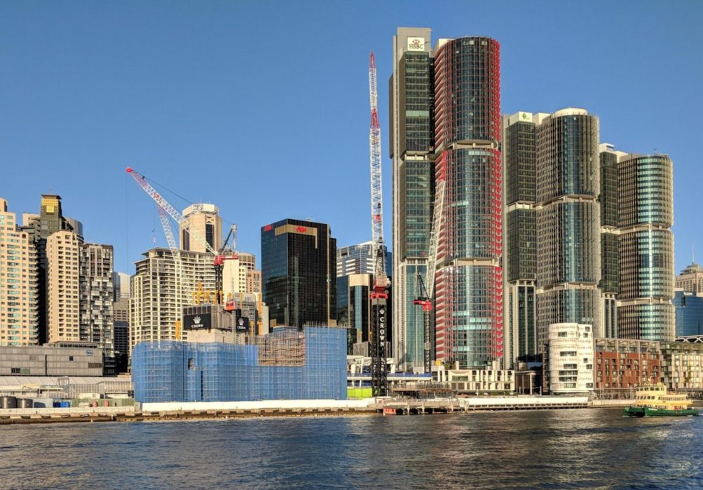 Sydney CBD Under Construction